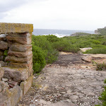 Southern Marley Headland ruins (35993)